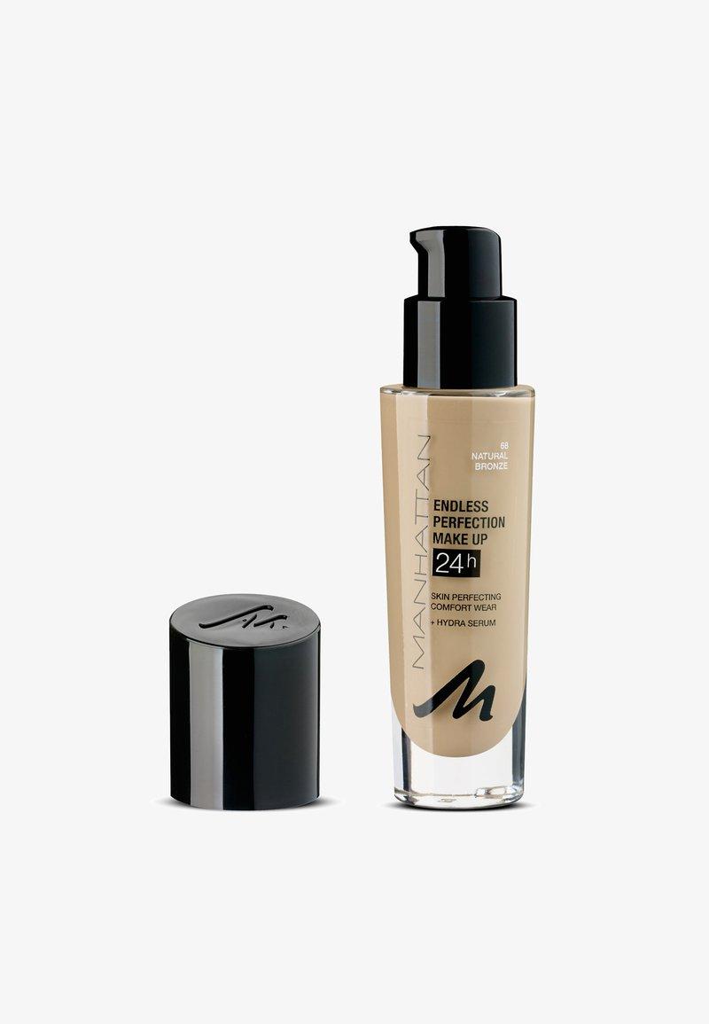 Manhattan Cosmetics - ENDLESS PERFECTION MAKE UP - Fond de teint - 68 natural bronze