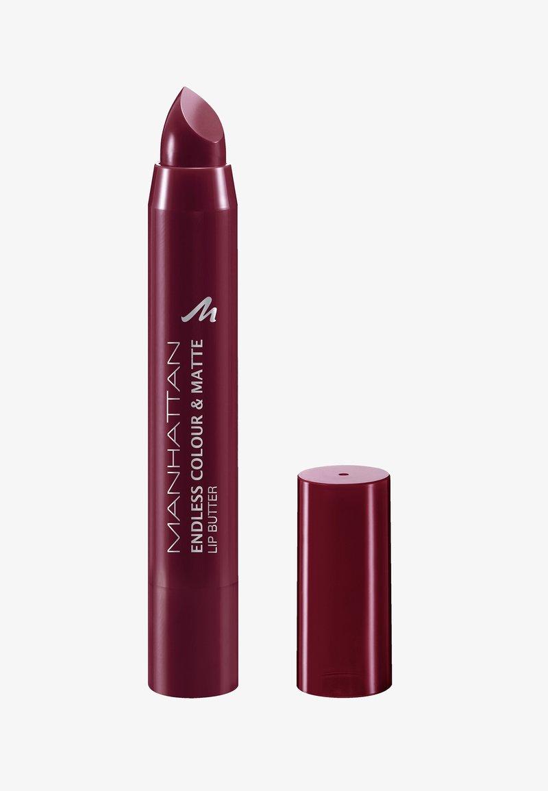 Manhattan Cosmetics - ENDLESS COLOUR & SHINE LIP BUTTER - Læbestifte - wine o clock