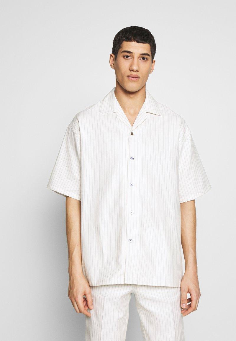 Martin Asbjørn - DICKIE  - Shirt - white pinstripe