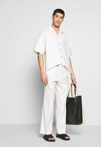 Martin Asbjørn - DICKIE  - Shirt - white pinstripe - 1