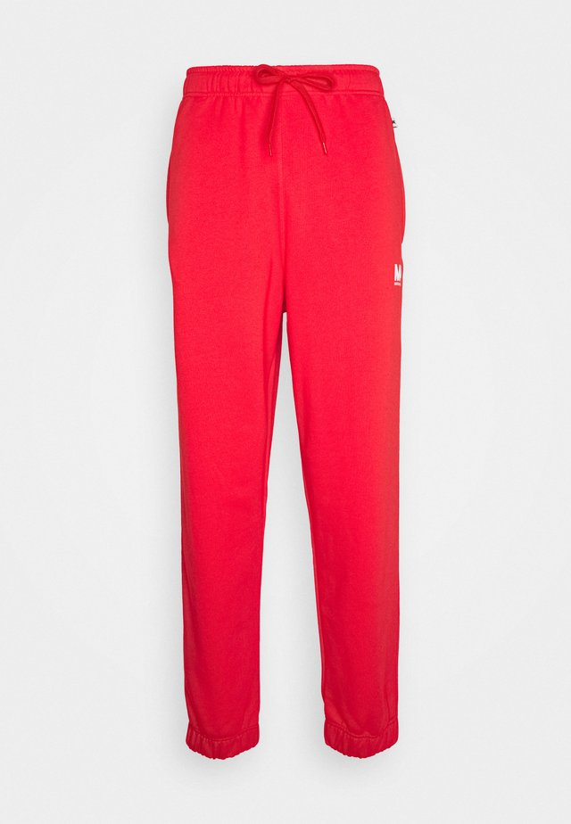 TRACKPANTS FLAME SCARLET - Joggebukse - flame