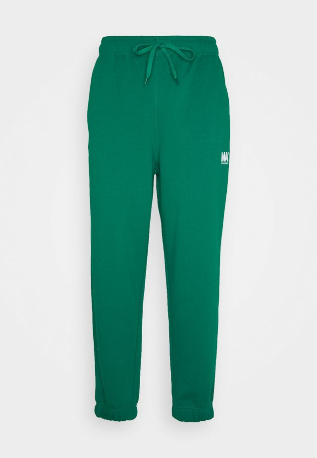 TRACKPANTS FLAME SCARLET - Pantalon de survêtement - evergreen