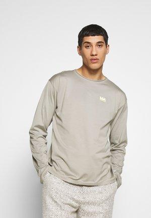 GREG - Long sleeved top - stone grey