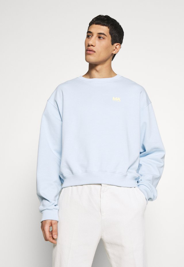 ANDREW CROPPED - Sweater - ballad blue