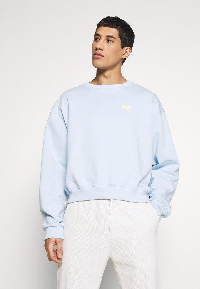 ANDREW CROPPED - Sweatshirt - ballad blue