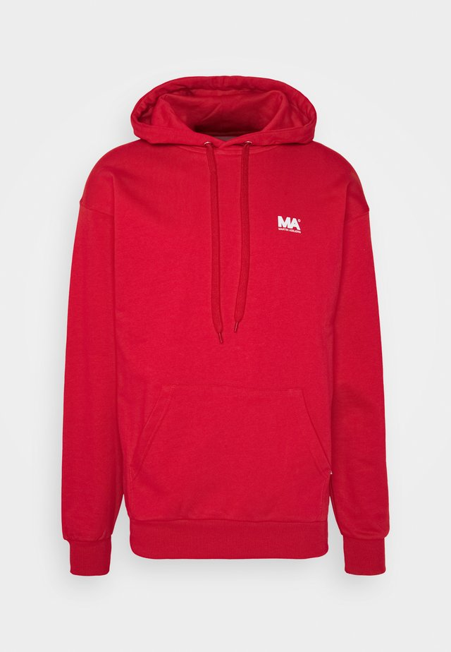 HOODIE  - Jersey con capucha - flame scarlet