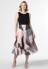 Marie Lund - Cocktail dress / Party dress - rosa schwarz - 0