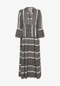 Marie Lund - Day dress - schwarz ecru - 0