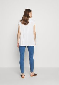 Missguided Maternity - OVER BUMP VICE SUPERSTRETCHY - Jeans Skinny Fit - blue - 2