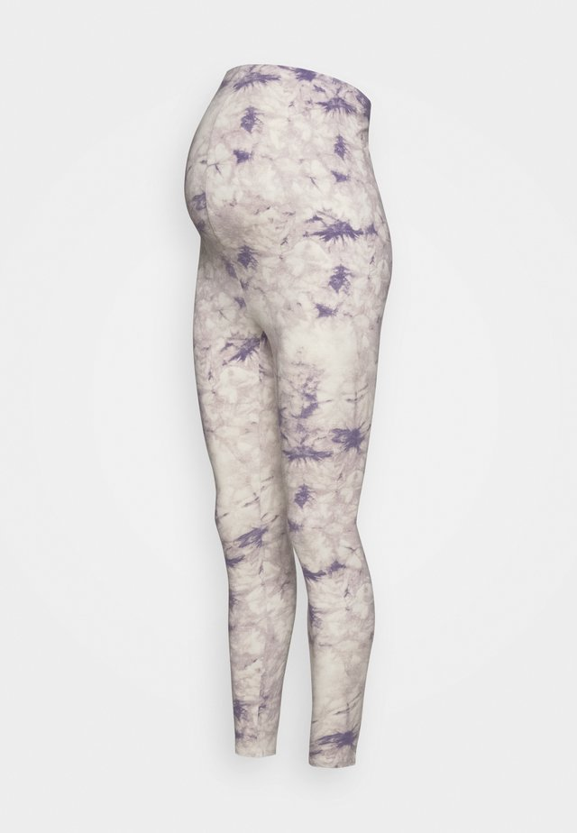 TIE DYE - Legginsy - lilac