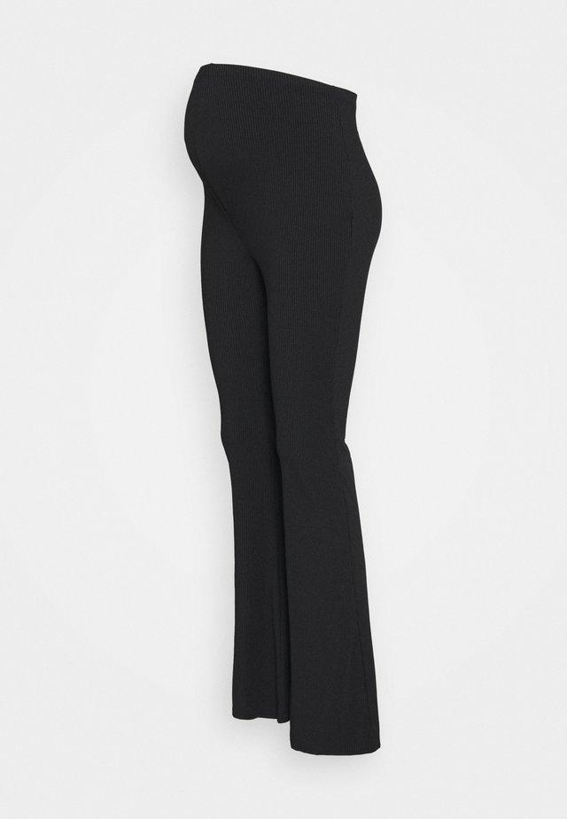 FLARES - Pantalon classique - black