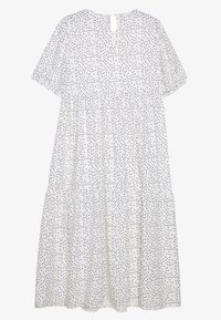 Missguided Maternity - SHORT SLEEVE POLKA DOT SMOCK DRESS - Denní šaty - white - 1