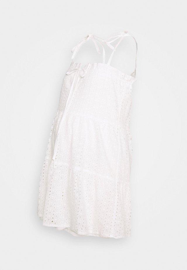 CAMI MINI DRESS - Vestido informal - white