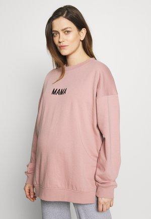 MATERNITY MAMA - Sweatshirt - rose pink