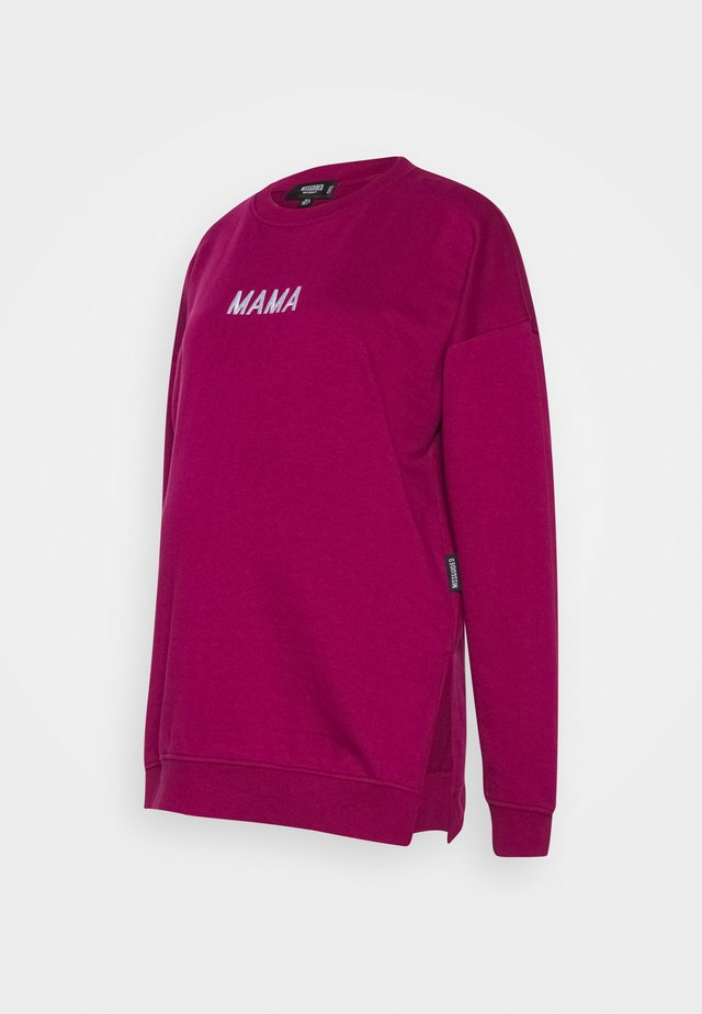 MAMA - Sweatshirt - raspberry