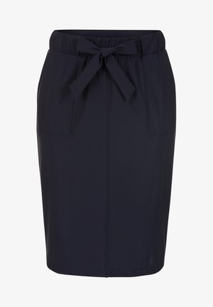 TONI TRAVEL  - Pencil skirt - dark blue