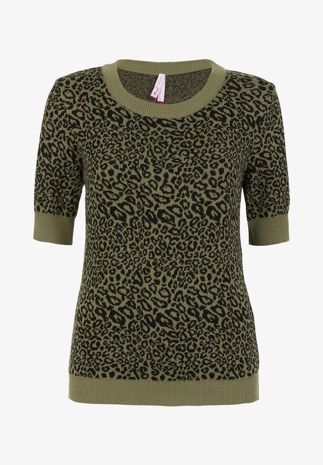 LEONA - T-shirt print - light olive