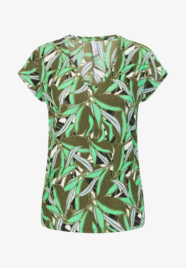 LIRA - T-shirt print - light olive