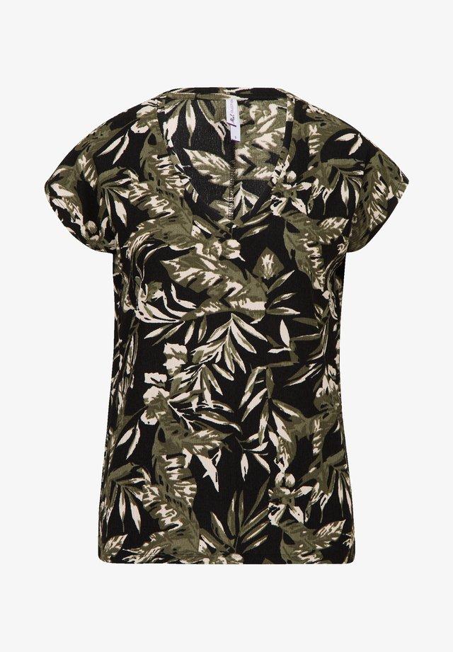 DESSIN LIRA - T-shirt print - black