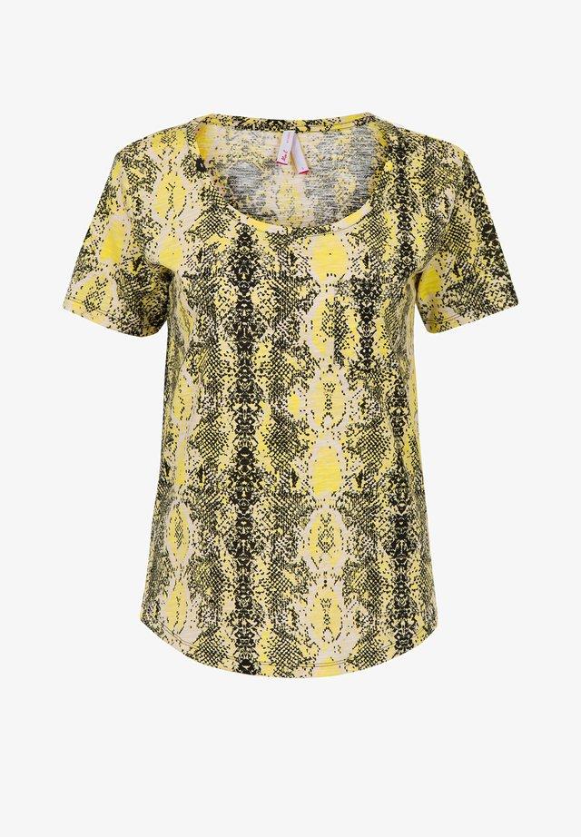 LIZZY  - T-shirt print - metallic black