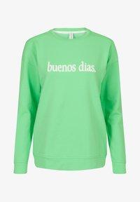 Miss E - ARTWORK  - Sweater - bright mint - 0