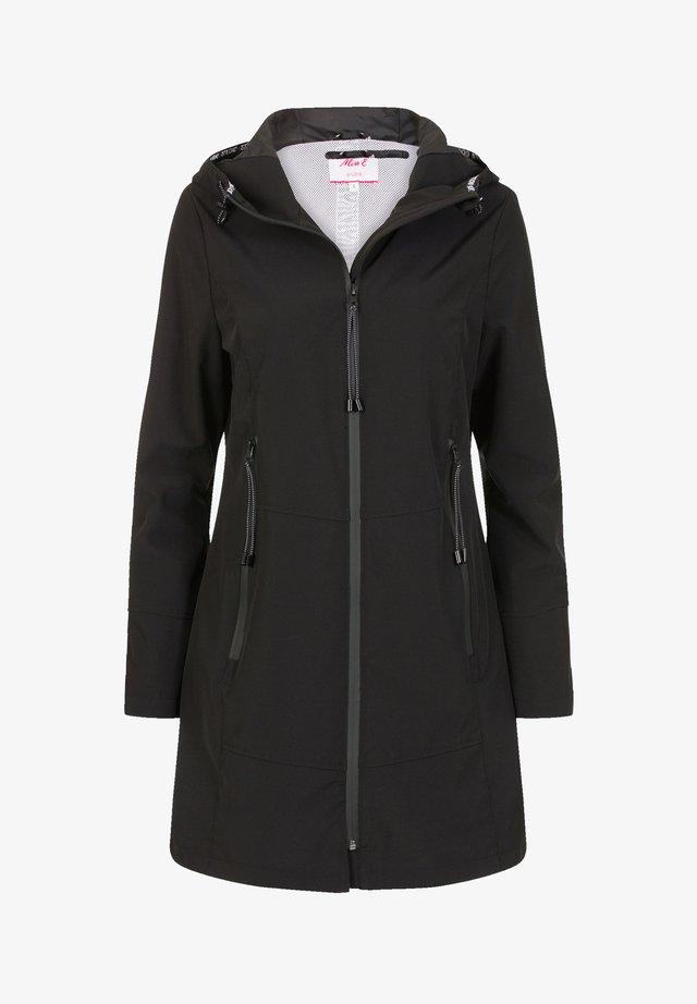CHRONICLE - Halflange jas - black