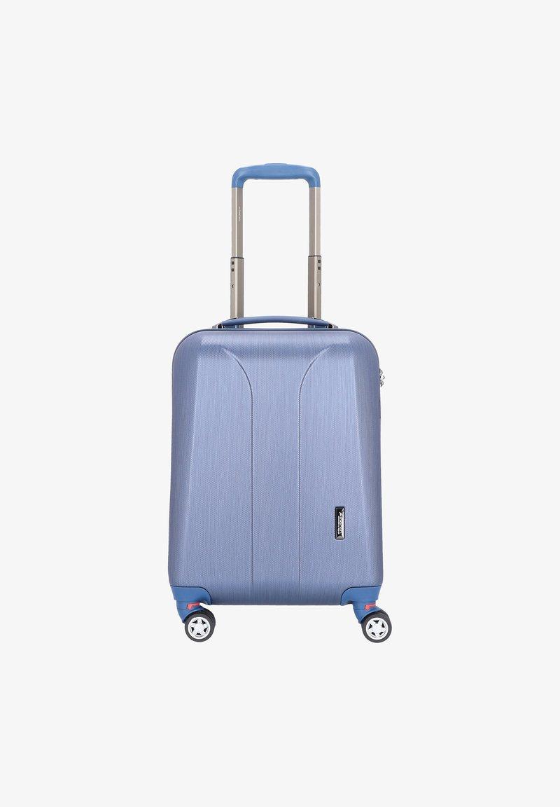 march luggage - Wheeled suitcase - blue