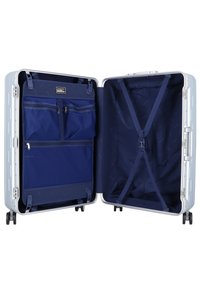 march luggage - DISCOVERY 4-ROLLEN TROLLEY - Wheeled suitcase - silver alu - 4