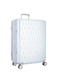 march luggage - DISCOVERY 4-ROLLEN TROLLEY - Wheeled suitcase - silver alu - 0