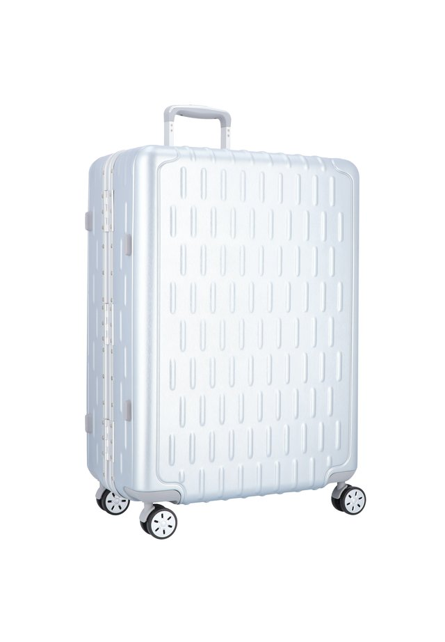 DISCOVERY 4-ROLLEN TROLLEY - Wheeled suitcase - silver alu