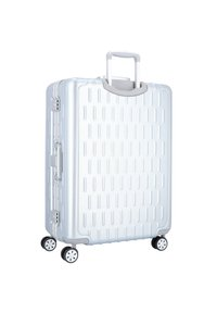 march luggage - DISCOVERY 4-ROLLEN TROLLEY - Wheeled suitcase - silver alu - 2