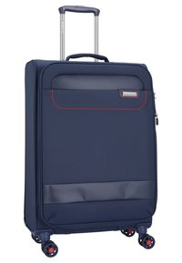 march luggage - SET - Set de valises - navy/red - 4