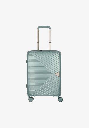 GOTTHARD  - Wheeled suitcase - petrol green metallic