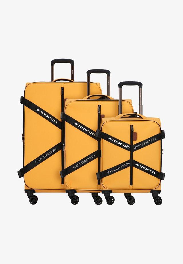 3 SET - Kofferset - golden honey