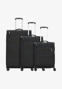march luggage - 3 SET  - Luggage set - black indigo - 0