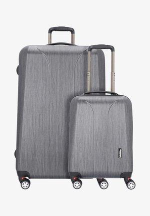 2 SET - Kofferset - grey