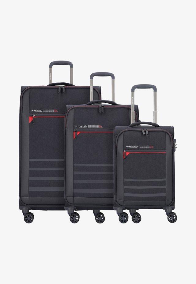 3 SET - Luggage set - grey