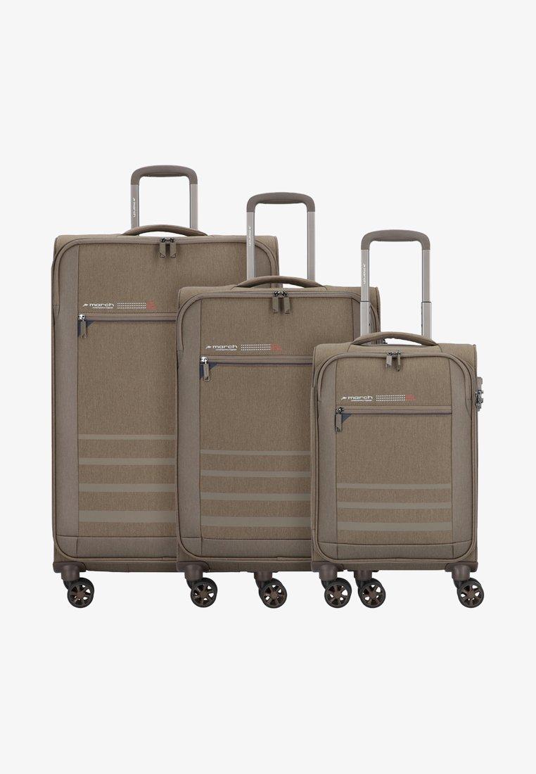 march luggage - 3 SET - Luggage set - kashmir