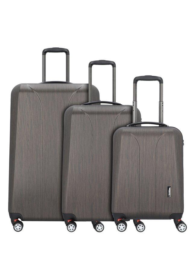 NEW CARAT  - Luggage set - bronze brushed