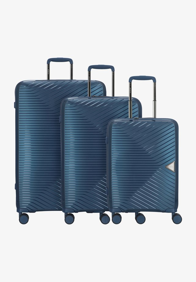 3 PIECES - Kofferset - orion blue