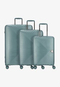 march luggage - 3 PIECES - Luggage set - green - 0