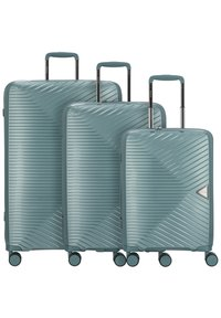 march luggage - 3 PIECES - Luggage set - green - 6