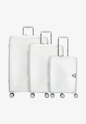 3 PIECES - Set de valises - silver metallic
