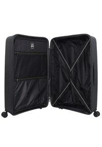 march luggage - 3 PIECES - Luggage set - black - 4
