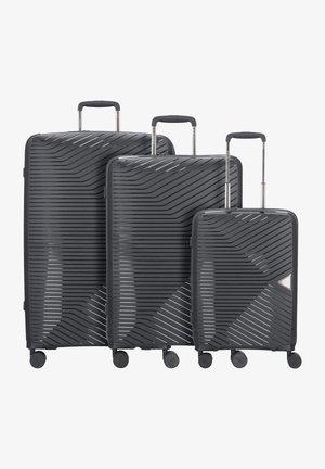 3 PIECES - Luggage set - black