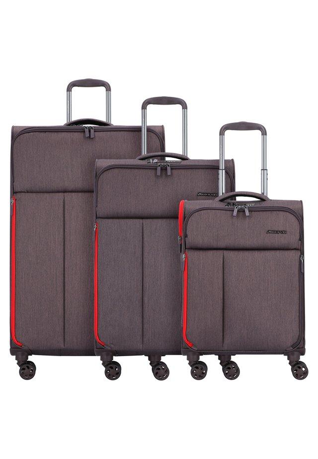 3 SET - Luggage set - taupe