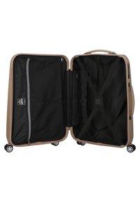 march luggage - 3 SET - Luggage set - gold brushed - 4