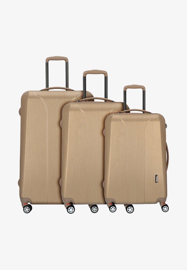 march luggage - 3 SET - Luggage set - gold brushed
