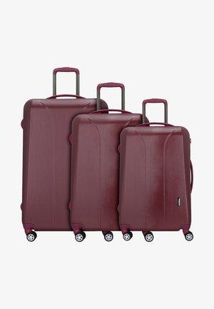 3 SET - Set de valises - burgundy brush