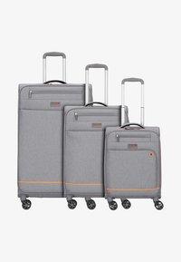 march luggage - 3 SET - Luggage set - grey - 0